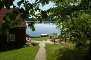 Pine Ridge Resort on Girl Lake, Minnesota