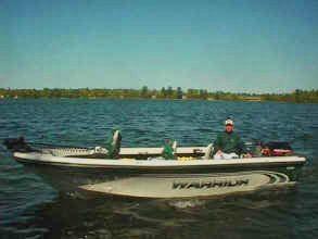 Dan Krone, Girl Lake Fishing Guide Service